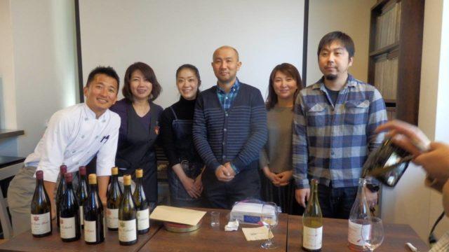 北海道のドメイヌたちを囲んでのワイン試飲会、無事終了しました。